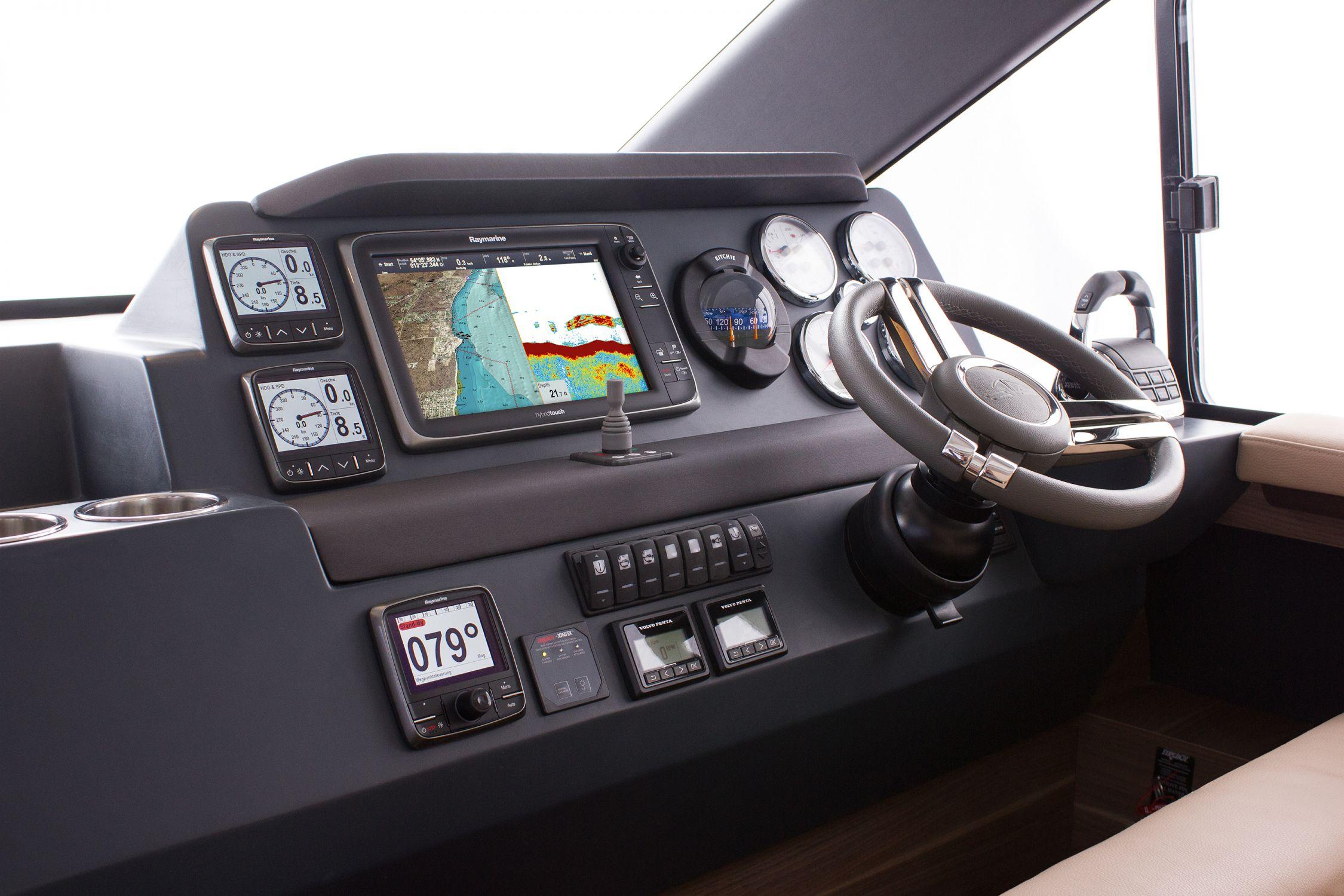 Boot Motoryachten 36 ft - 40 ft Interieur