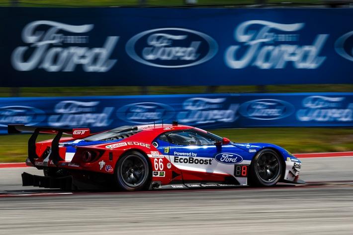 Ford will auf dem texanischen Circuit of the Americas die IMSA-Erfolgsserie des Ford GT fortsetzen / Ford GT.