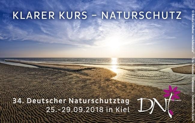 Programm zu Deutschlands größtem Naturschutzkongress im September in Kiel veröffentlicht.