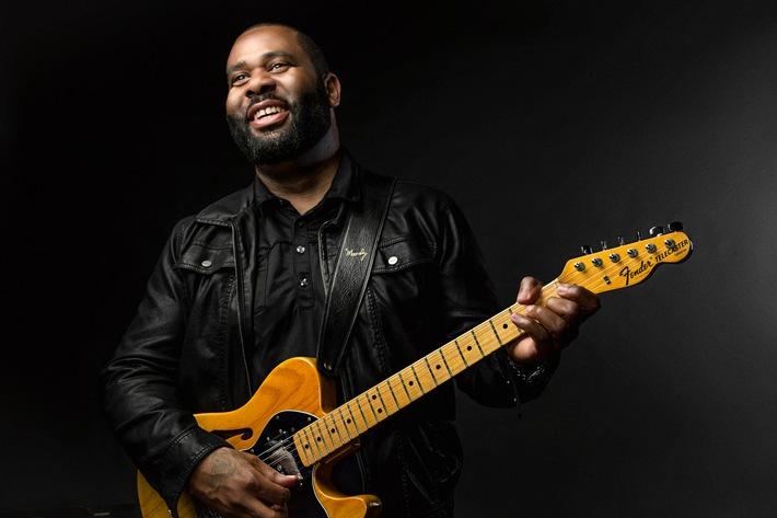 Der amerikanische Gitarrist Kirk Fletcher kommt zum Lahnsteiner Bluesfestival.