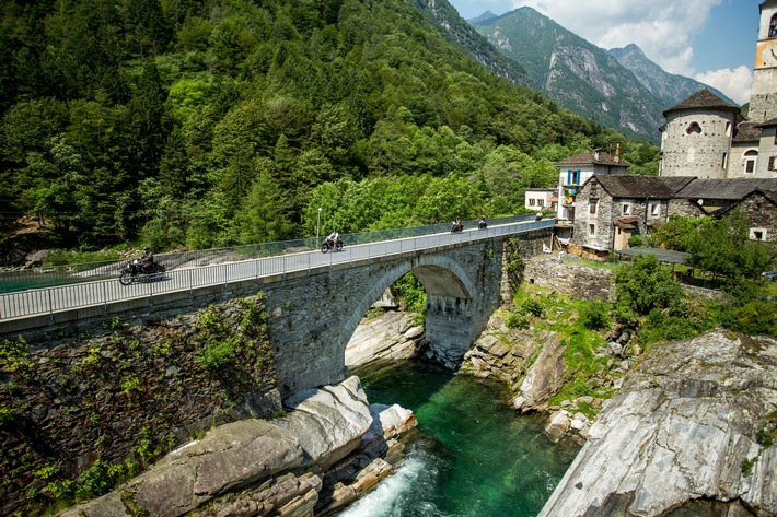 Brione im Verzascatal, Tessin, Schweiz, ADAC Europa Classic