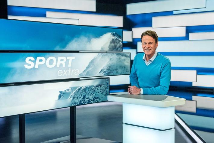 ZDF-SPORTextra-Moderator Rudi Cerne