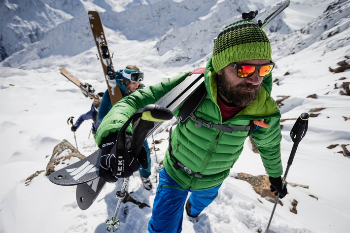 Ab ins Gelände: Im Drei-Tages-Camp bietet Extrembergsteiger Stephan Keck einen ?Einstieg? ins Skitourengehen.