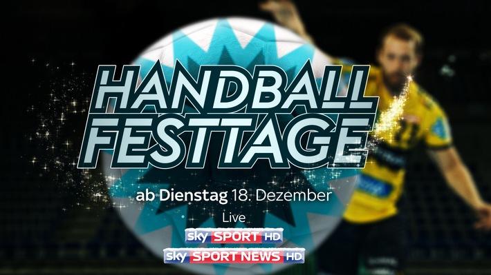 Die Handball-Festtage bei Sky gehen weiter: die Konferenz am 2. Weihnachtstag im Free-TV auf Sky Sport News HD, alle 18 Spiele rund um die Feiertage mit dem Sky Sport Paket und Sky Ticket