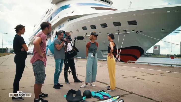 Ein Feuerwerkslauf in China und Wasserskifahren hinter einem Kreuzfahrtschiff - der Wettkampf zwischen Joko Winterscheidt und Klaas Heufer-Umlauf um die wahnwitzigsten Herausforderungen geht weiter. Mit eigens zusammengestellten Teams kämpfen die beiden in